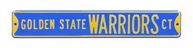 Golden State Warriors Ct Street Sign