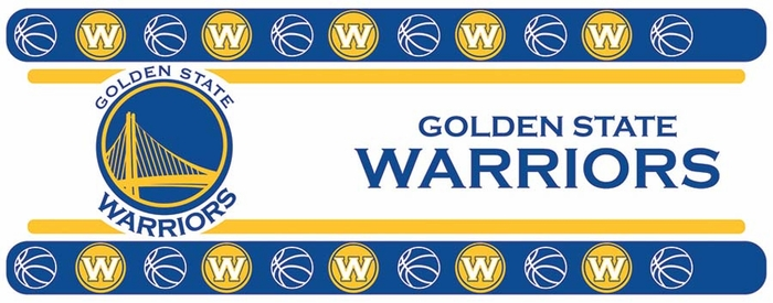Golden State Warriors Peel And Stick Wallpaper Border