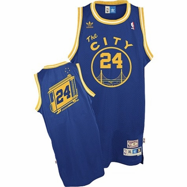 Golden State Warriors Rick Barry Adidas Team Color Throwback Replica Premiere Jersey
