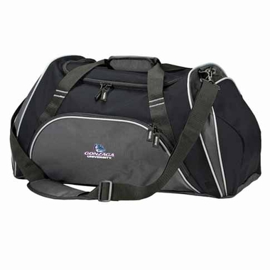 Gonzaga Action Duffle (Color: Black)