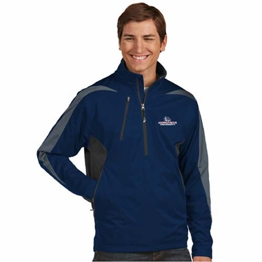 Gonzaga Mens Discover 1/4 Zip Pullover (Color: Navy)