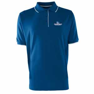 Gonzaga Mens Elite Polo Shirt (Color: Blue) - Large