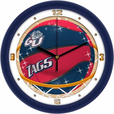 Gonzaga Slam Dunk Wall Clock