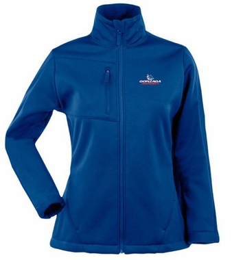 Gonzaga Womens Traverse Jacket (Color: Blue)
