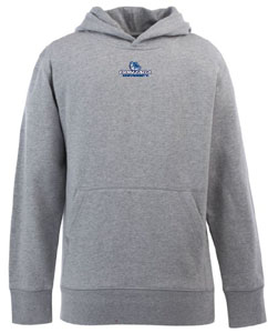 Gonzaga YOUTH Boys Signature Hooded Sweatshirt (Color: Gray) - Small