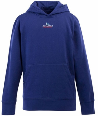 Gonzaga YOUTH Boys Signature Hooded Sweatshirt (Color: Royal)