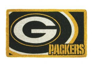 Green Bay Packers 18x30 Bleached Welcome Mat