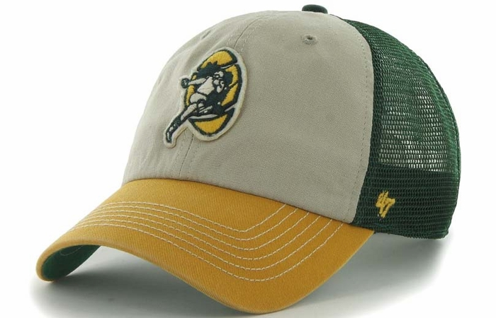Green Bay Packers 47 Brand McNally Throwback Mesh Back Adjustable Hat 64e32a50a