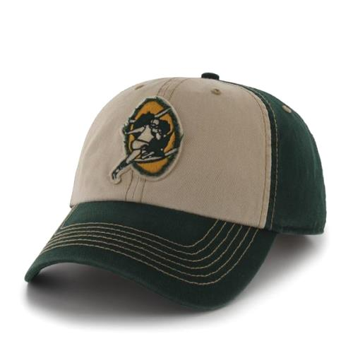 Green Bay Packers 47 Brand NFL Yosemite Vintage Wash Adjustable Hat - Green 63be677e7