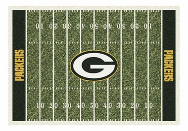 "Green Bay Packers 5'4"" x 7'8"" Premium Field Rug"
