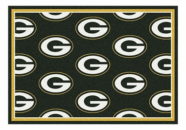"Green Bay Packers 5'4"" x 7'8"" Premium Pattern Rug"