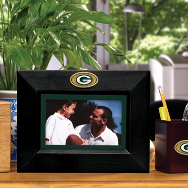 Green Bay Packers BLACK Landscape Picture Frame