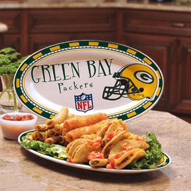 Green Bay Packers Ceramic Platter