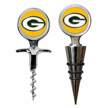 Green Bay Packers Corkscrew and Stopper Gift Set