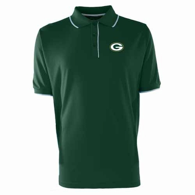 Green Bay Packers Mens Elite Polo Shirt (Color: Green)
