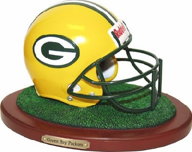 Green Bay Packers Helmet Figurine