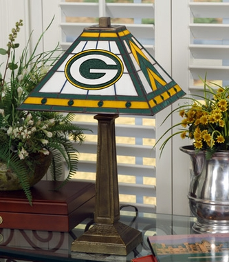 Green Bay Packers Mission Lamp