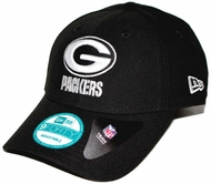 a0624e8bd3b Green Bay Packers New Era 9Forty The League Adjustable Hat - Black