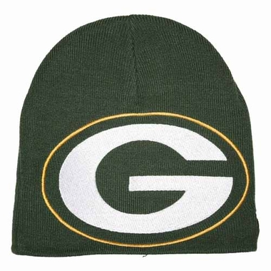 Green Bay Packers New Era Big One Too Cuffless Knit Hat