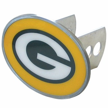 Green Bay Packers Oval Metal Hitch Cover