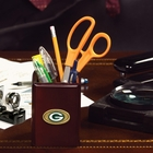 Green bay packers business card holder green bay packers pencil holder reheart Images