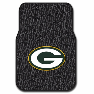 Green Bay Packers Set of Rubber Floor Mats