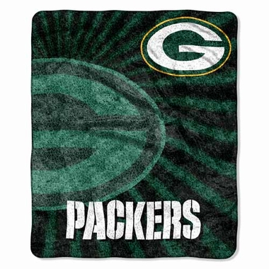 Green Bay Packers Super-Soft Sherpa Blanket