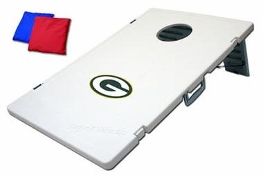 Green Bay Packers Tailgate Toss 2.0 Cornhole Beanbag Game