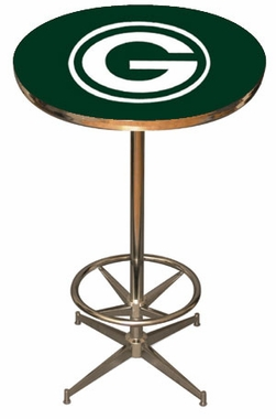Green Bay Packers Team Pub Table