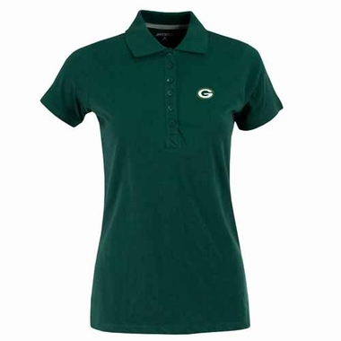 Green Bay Packers Womens Spark Polo (Color: Green)