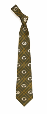 Green Bay Packers Woven Poly 2 Necktie