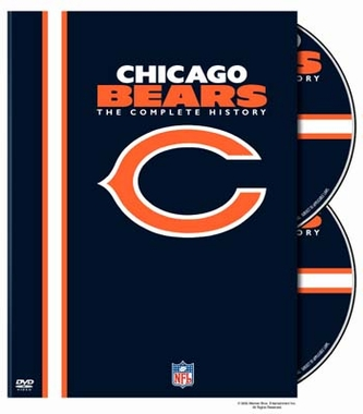 History of the Chicago Bears DVD