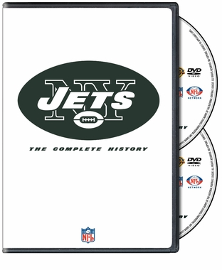 History of the New York Jets DVD