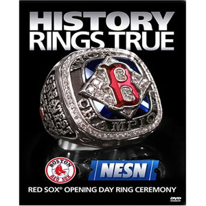 History Rings True - Red Sox Opening Day & Ring Ceremony DVD