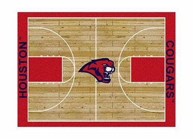 "Houston 3'10"" x 5'4"" Premium Court Rug"