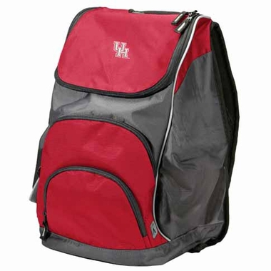 Houston Action Backpack (Color: Red)