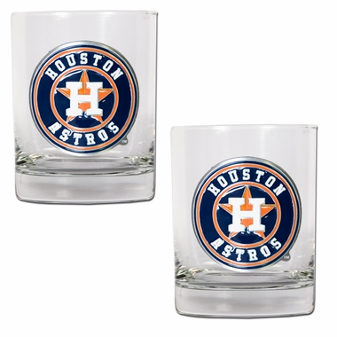 Houston Astros Double Rocks Set