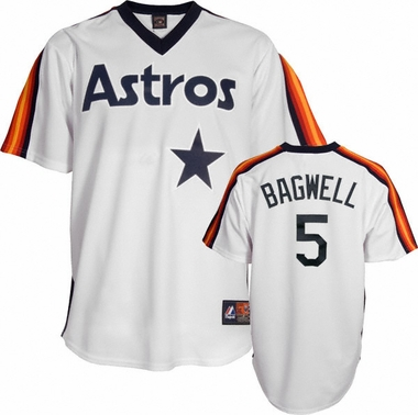Houston Astros Jeff Bagwell Replica Throwback Jersey