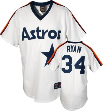 Houston Astros Nolan Ryan Replica Throwback Jersey