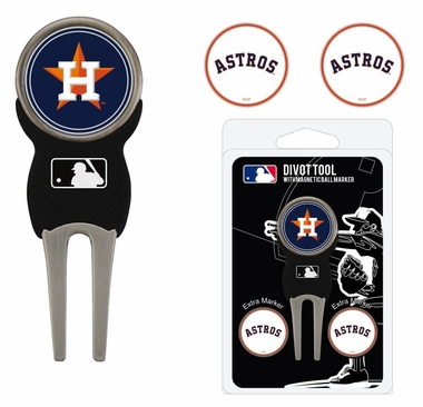Houston Astros Repair Tool and Ball Marker Gift Set