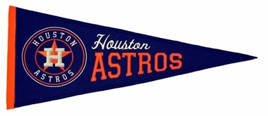 Houston Astros Wool Pennant