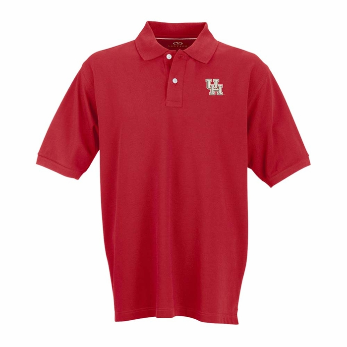 Houston mens perfect polo color red 5x large for Mens 5x polo shirts