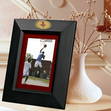 Houston Rockets BLACK Portrait Picture Frame