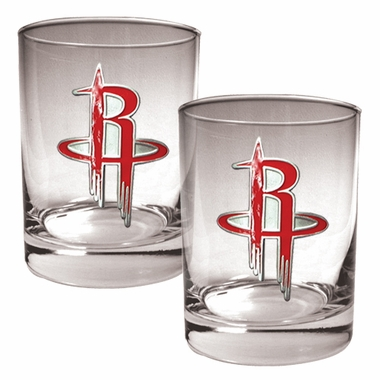 Houston Rockets Double Rocks Set