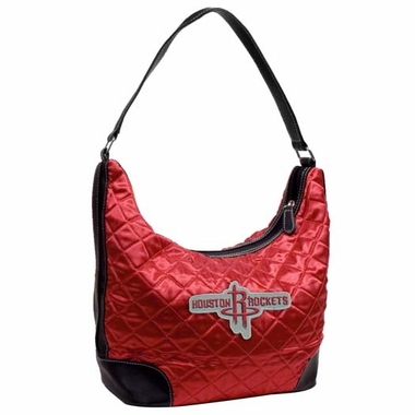 Houston Rockets Quilted Hobo Purse