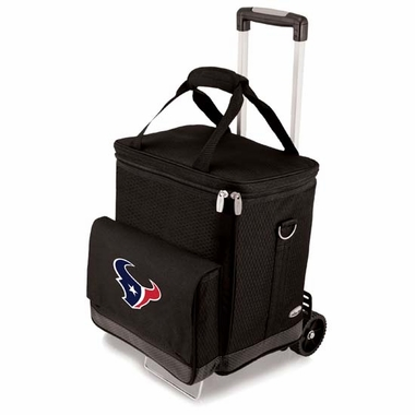 Houston Texans Cellar w/Trolley (Black)