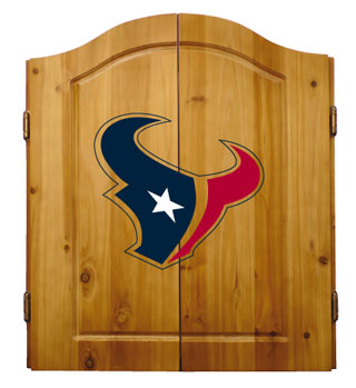 Houston Texans Complete Dart Cabinet