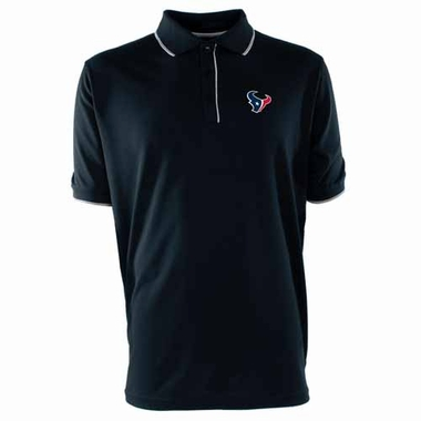 Houston Texans Mens Elite Polo Shirt (Color: Navy)