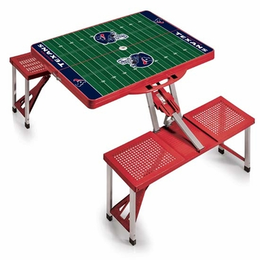 Houston Texans Picnic Table Sport (Red)