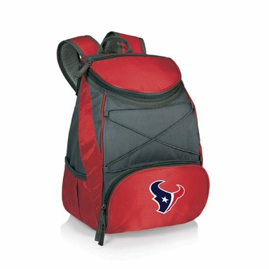 Houston Texans PTX Backpack Cooler (Red)